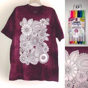 THE MOUNTAIN Colorwear Tie Dye w/Tulip Markers ⭐️
